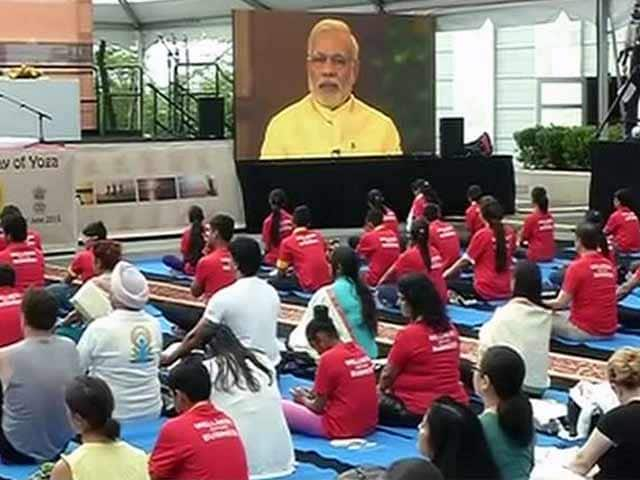 Video : PM Modi's Yoga Day Message at United Nations in New York