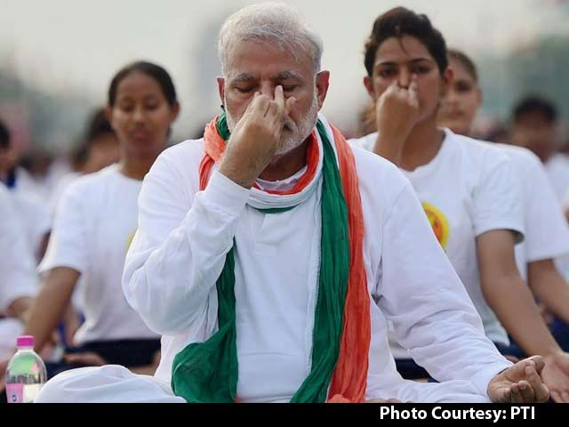 Video : With International Yoga Day at Rajpath, India Sets Two Guinness World Records in a Day