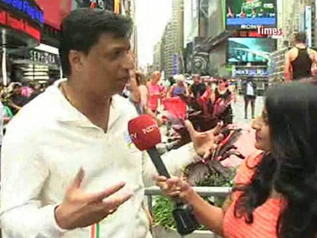 Madhur Bhandarkar Celebrates International Yoga Day at UN