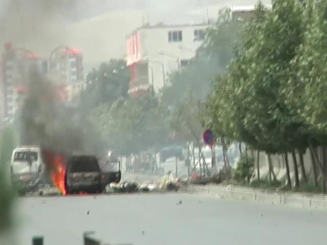 Video : 7 Taliban Gunmen Who Attacked Afghan Parliament Killed