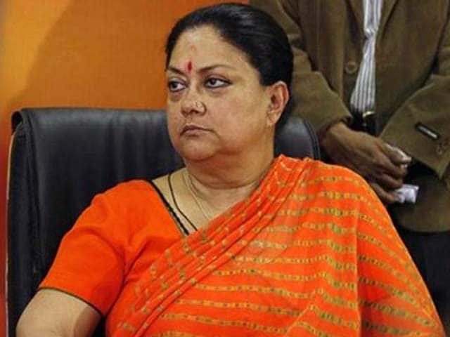 Video : Vasundhara Raje Was Lalit Modi's Business Partner, Says Congress, Citing Her Election Papers