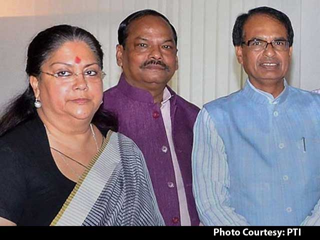 Video : Raje Was in Delhi Only to Attend NITI Aayog Meeting, Had No Other Appointment, Says Her Office