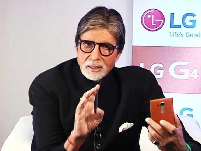 Video : The 'Shahenshah' on Cell Guru