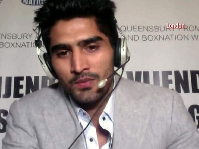 Video : Will Miss Fighting for India but Professional Boxing is Right Way Forward: Vijender Singh
