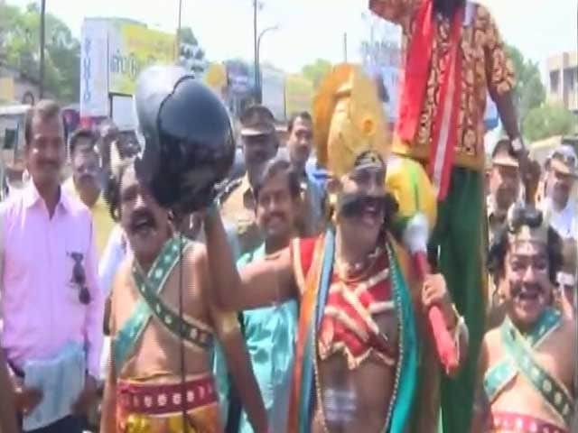 Video : Don't Give Me Work to Do, Says the Lord of Death in Tamil Nadu's Helmet Campaign