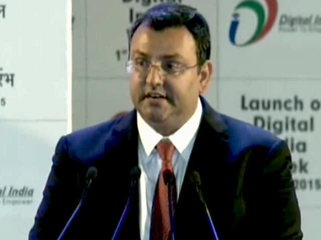 Videos : डिजिटल इंडिया के लिए सरकार के साथ काम करेंगे : मिस्त्री