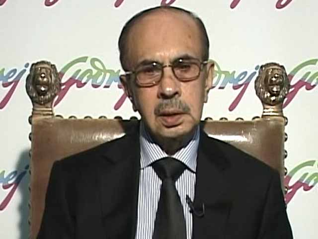 Video : Hope Politics Won't Come in Way of Economic Growth: Adi Godrej