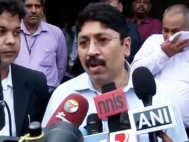 Video : Dayanidhi Maran, Accused of Telecom Scam, Says RTI Proves Otherwise