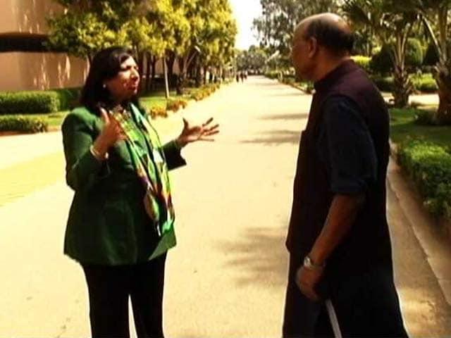Video : Walk the Talk with Kiran Mazumdar Shaw: Tonight at 8:30 pm (IST) on NDTV 24x7