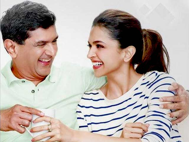 Video : Deepika Padukone to Feature in Advert with Father
