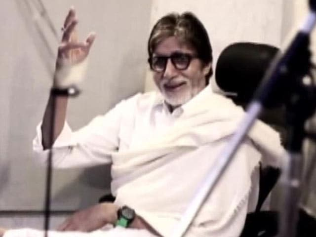 Video : Amitabh Bachchan Takes 'Panga', Sings for Pro Kabaddi League