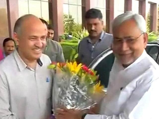 Videos : दिल्ली को पूर्ण राज्य बनाने पर केजरीवाल को मिला नीतीश कुमार का समर्थन