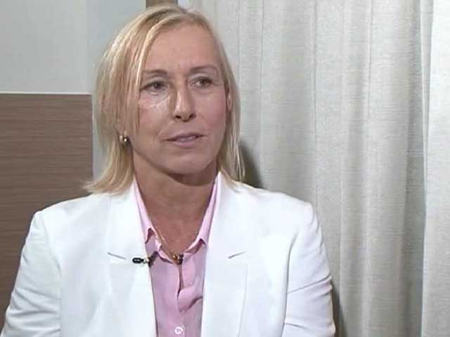 Video : Serena Williams has Curves of a Woman: Martina Navratilova to NDTV