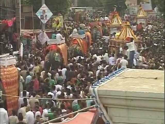 Videos : पुरी : जगन्नाथ रथयात्रा में मची भगदड़, दो लोगों की मौत