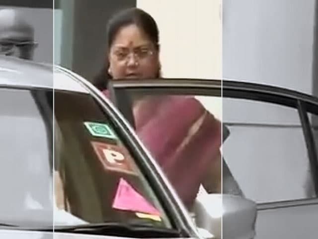 Video : Vasundhara Raje Meets BJP Chief Amit Shah, Shivraj Singh Chouhan May Meet Him Too