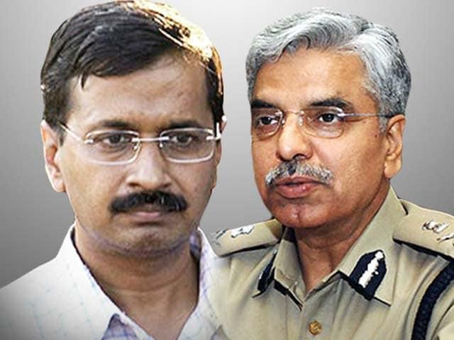Videos : जारी है 'जंग', केजरीवाल सरकार ने दिल्ली पुलिस के खिलाफ खोला मोर्चा