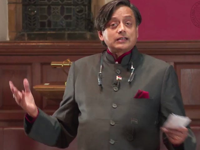 Video : Watch the Tharoor Speech On British Rule That's Gone Viral