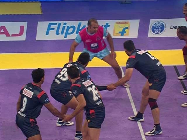 Video : Pro Kabaddi League: Bengal Warriors Escape to Victory vs Jaipur Pink Panthers