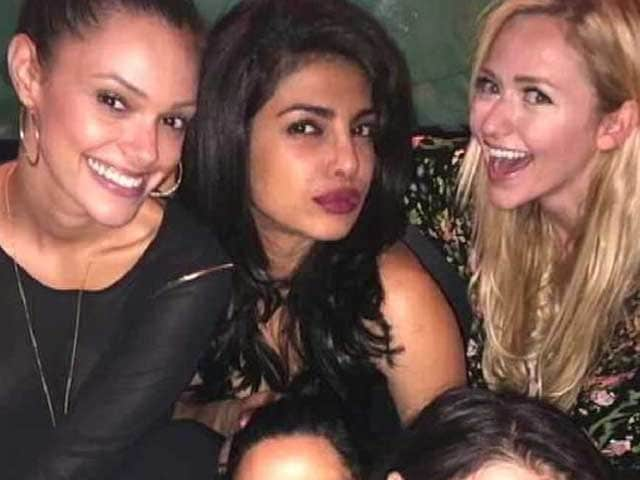 Priyanka Chopra Lets Her Hair Down With Quantico Co-Stars