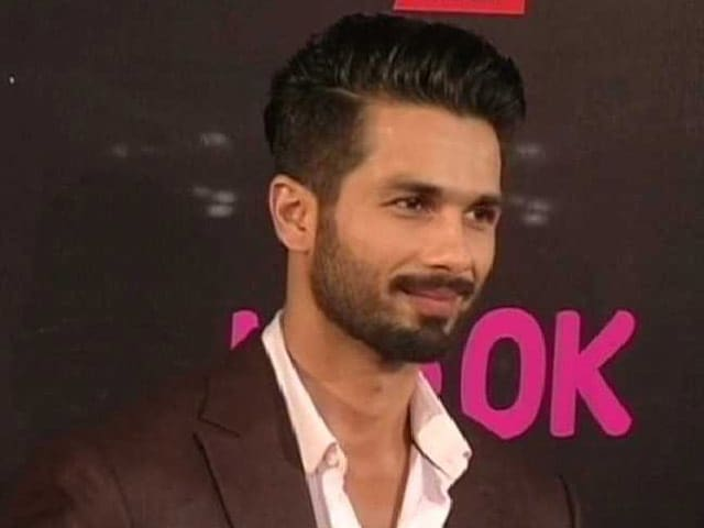 Shahid Kapoor is Back to Work After His Wedding