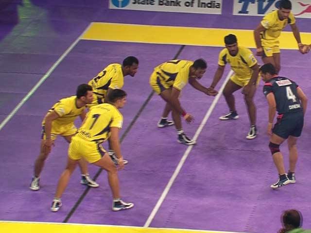 Pro Kabaddi League: Telugu Titans Escape to Victory vs Bengal Warriors