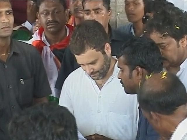 Video : PM Modi Will Take Away Your Land, Rahul Gandhi Tells Farmers in Andhra Pradesh