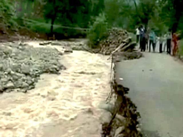 Video : जम्मू-कश्मीर में अमरनाथ बेस कैंप के पास बादल फटने से दो बच्चों की मौत