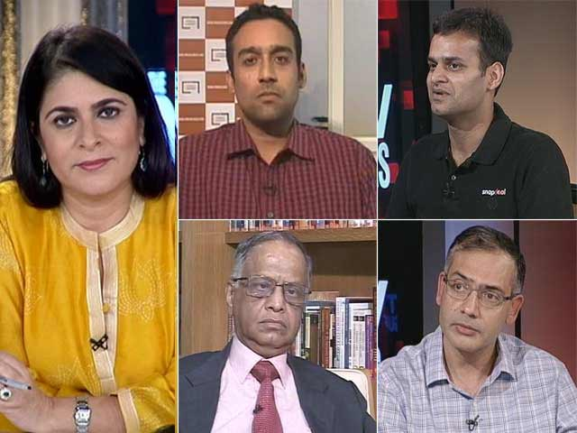 Video : The NDTV Dialogues - Indian Startups: Sky's the Limit