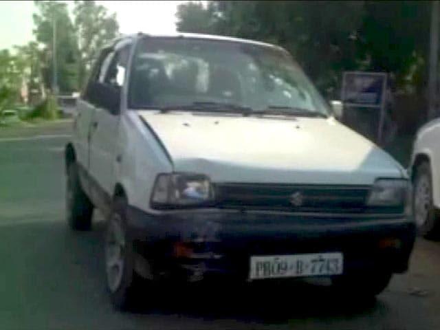 Video : गुरदासपुर हमला : इसी कार में सवार होकर आए थे आतंकी