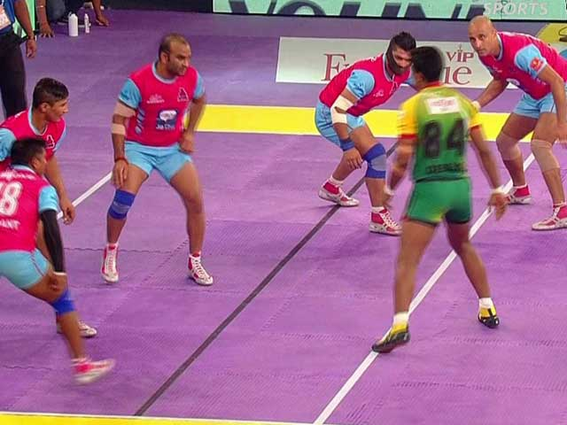 Video : Pro Kabaddi League: Patna Pirates Stun Jaipur Pink Panthers