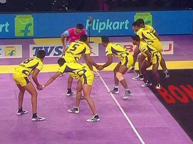 Video : Pro Kabaddi League: Jaipur Pink Panthers Crash to Fourth Straight Defeat