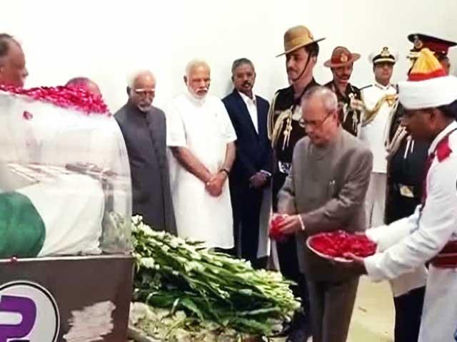 Videos : बड़ी खबर : अंतिम सफ़र पर भारत रत्न कलाम, 30 जुलाई को होगा अंतिम संस्कार