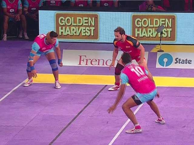 Video : Pro Kabaddi League: Pink Panthers Beat Bengaluru Bulls for First Win in Season 2