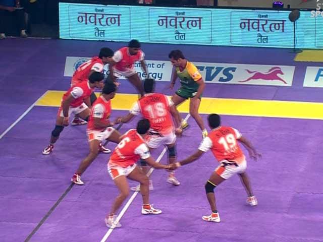 Video : Pro Kabaddi League: Patna Pirates Beat Puneri Paltan