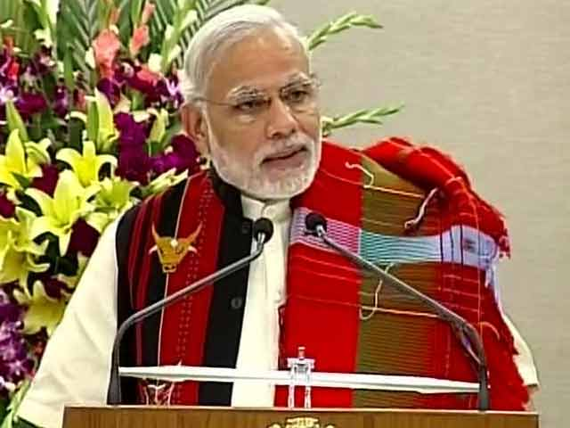 Video : PM Announces Peace Accord With NSCN, Naga Militant Group