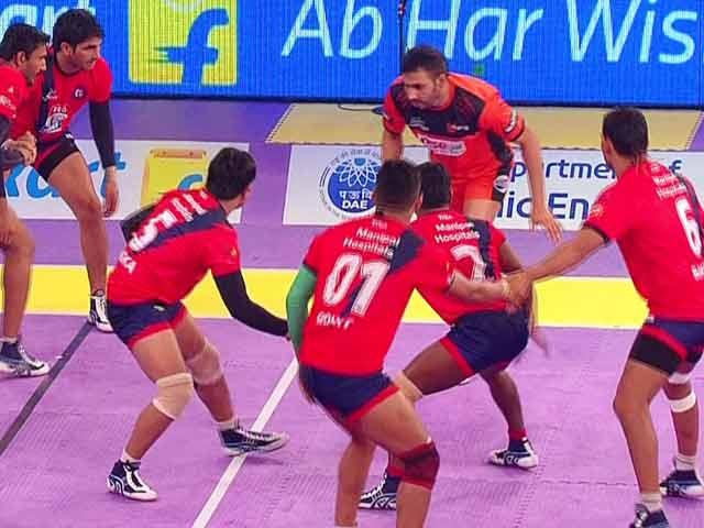 Video : Pro-Kabaddi League: U Mumbai Continue to Dominate Season 2