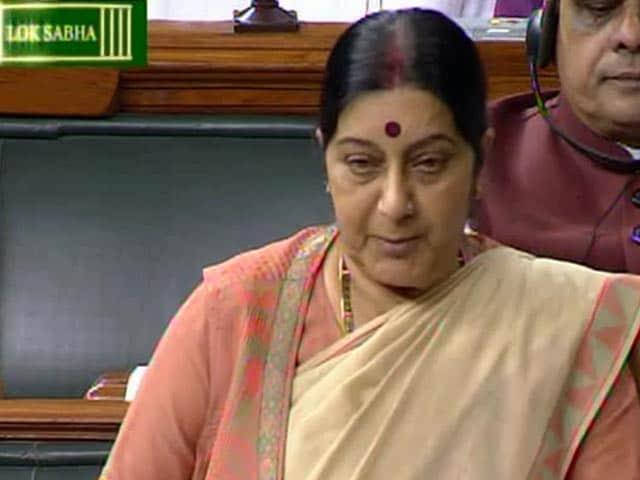 Videos : ललितगेट : सुषमा ने कहा, मेरी जगह सोनिया गांधी होतीं तो क्या करतीं