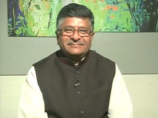Video : 'Nitish Kumar, Bihar is Much Bigger Than Your Ego': Ravi Shankar Prasad
