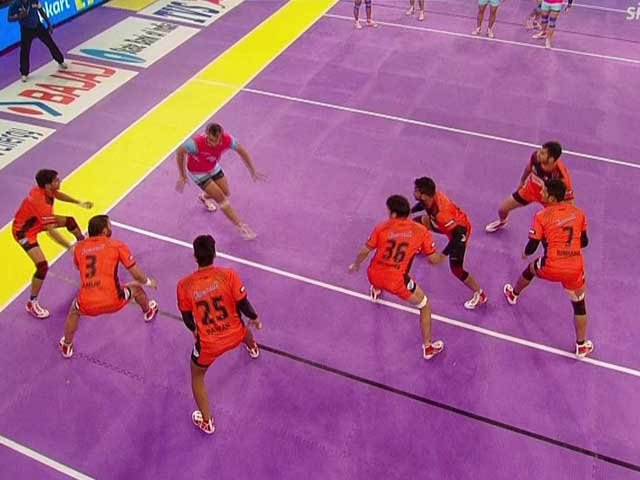 Video : Pro Kabaddi League: Jaipur Bring Down U Mumba's Threat