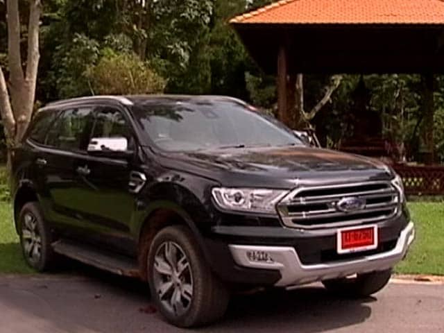 Ford Endeavour Gets Set For India Launch