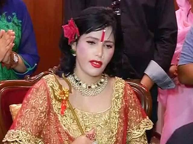 Video : Battling Controversies, 'Godwoman' Radhe Maa Says 'I am Innocent and Pure'