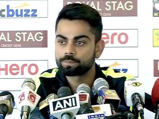 Videos : श्रीलंका में जीत को बेताब, 20 विकेट लेना प्राथमिकता : विराट कोहली