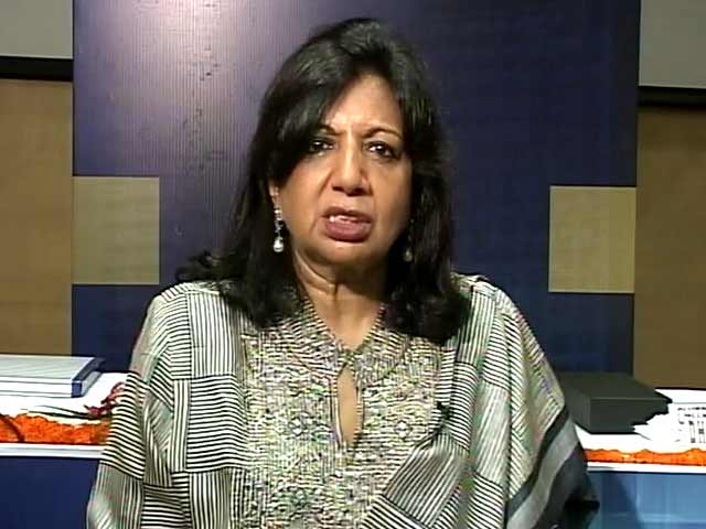Video : Biocon's Kiran Mazumdar-Shaw on Syngene's Listing