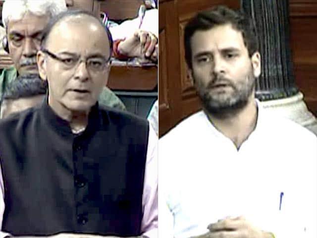 Video : इंडिया 7 बजे : संसद पर जेटली बोले, 'बिना जानकारी के विशेषज्ञ हैं राहुल'
