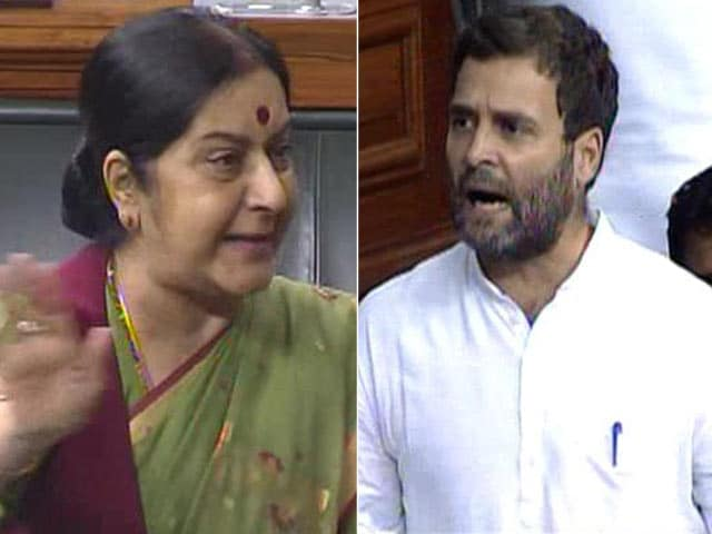 Video : Fireworks in Lok Sabha Over 'Lalitgate'