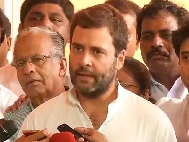 Video : Rahul Gandhi Has Advice for the PM on 'Restoring Credibility'