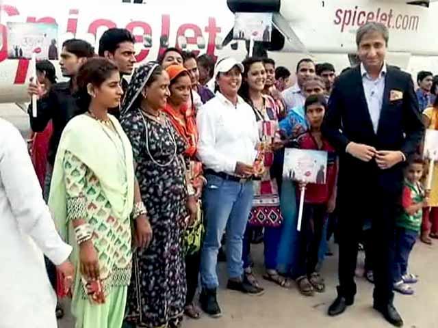 Video : NDTV इंडिया की खास पहल : पूरी हुई 16 परिवारों के 'सपनों की उड़ान'