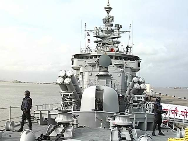Video : Independence Day or Not, India's Navy Men Toil 24x7
