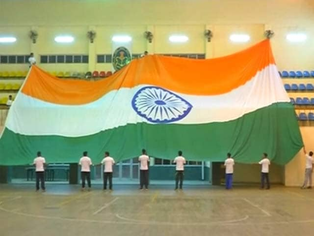 Video : Navy to Unfurl Massive Tricolour at Highest Point in Maharashtra