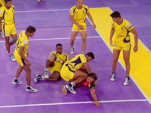 Video : Pro Kabaddi League: Bengaluru Bulls Crush Telugu Titans, Reach Play-Offs